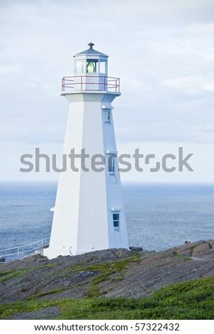 Cape Spear Lighthouse - stock photo
