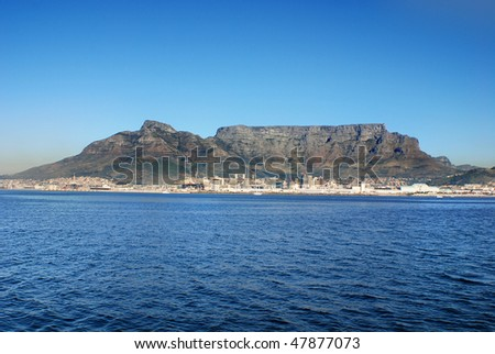 CAPE TOWN SOUTH AFRICA - stock photo