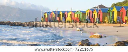 Cape Town St James - stock photo