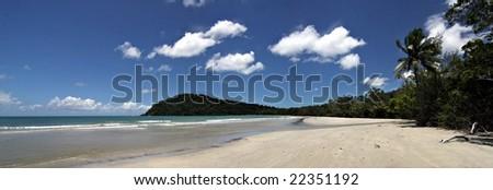 Cape Tribulation, Far North Queensland - stock photo