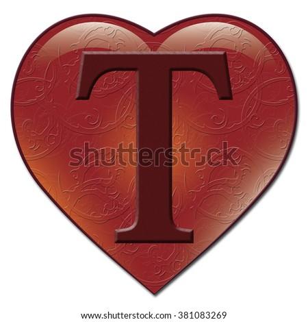 "ArtCapFonts's ""Heart Font"" set on Shutterstock"