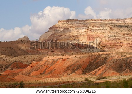 Capital Reef Mountains at East Entrance