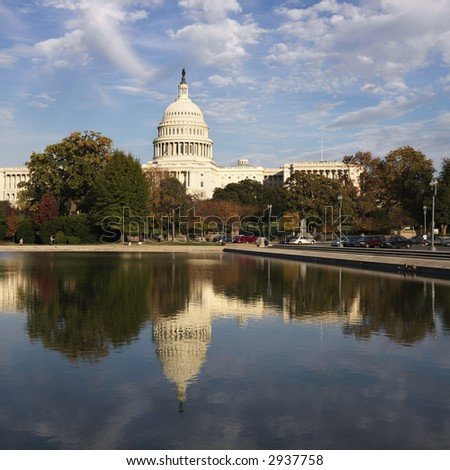 Capitol Building. - stock photo