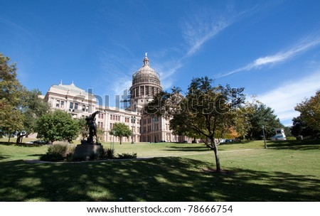 Capitol building, Austin, Texas - stock photo