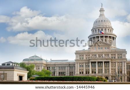 Capitol building, Austin, Texas, USA - stock photo
