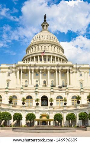 Capitol Building, Washington DC - United States - stock photo
