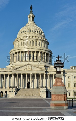Capitol building, Washington DC USA - stock photo