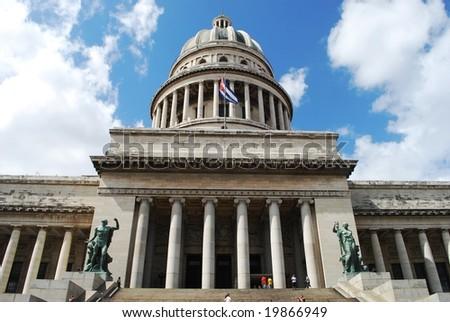 Capitol in Havana - stock photo