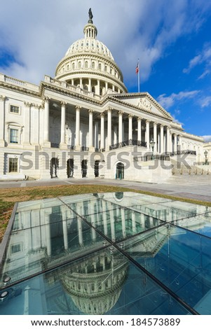 Capitol - Washington DC, United States of America - stock photo