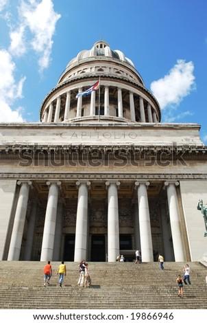 Capitolio in Havana - stock photo