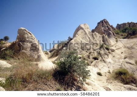 Cappadocia Landscape - stock photo