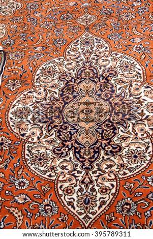 CAPPADOCIA, TURKEY - JUN 4, 2014 - Kayseri Buyun rugs  in a carpet showroom in  Cappadocia, Turkey - stock photo