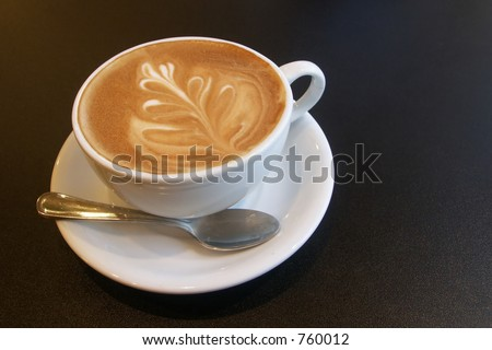 Cappuccino time! - stock photo