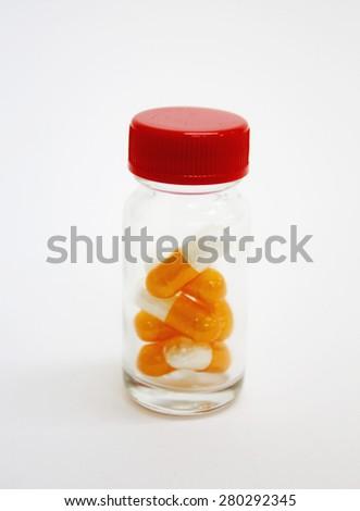 capsule drugs - stock photo