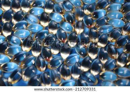 Capsules - stock photo