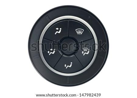 Car air flow control - stock photo