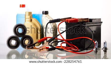 Car Auto Accessories - stock photo