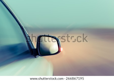 CAR BACKGROUND - stock photo