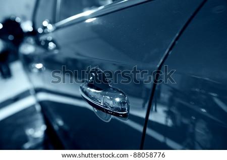 Car door - stock photo