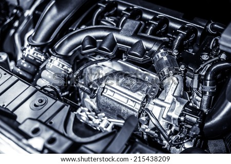 Car Engine - stock photo
