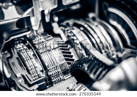 Car Engine closeup