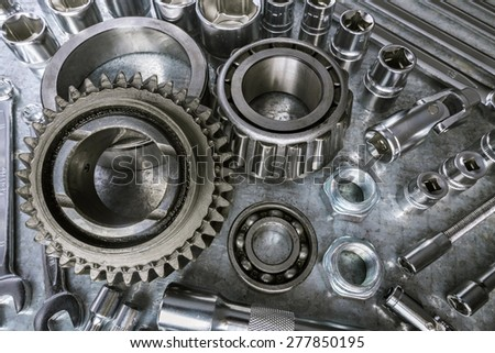Auto Body Parts moreover Exterior Car Part Names further PALEX MOTOR PARTS  Racing Clutch Housing With 6 Spring Honda EX5 High also John Deere GX75 Belt Diagram additionally Sealed Power Re Ring Kits. on engine connecting rod part names