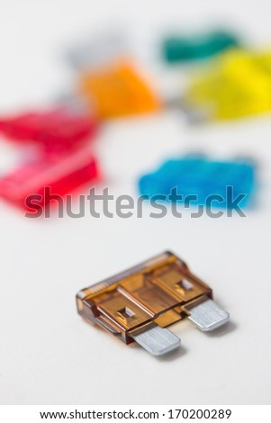 car fuses - stock photo