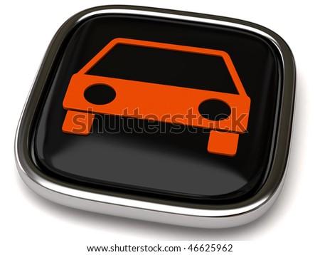 car icon - stock photo