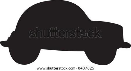Car illustration - stock photo