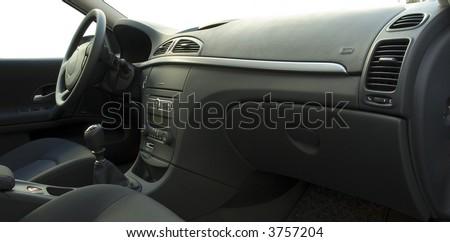 car interior - stock photo