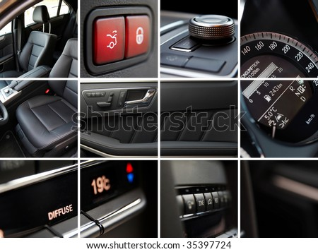 Luxury Car Interior Stock Photos Royalty Free Images Vectors Shutterstock