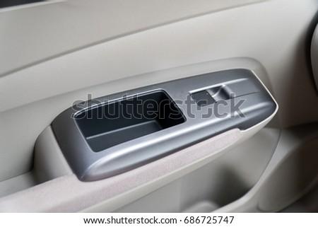 Car Interior Door Handles Stock Photo Edit Now 686725747