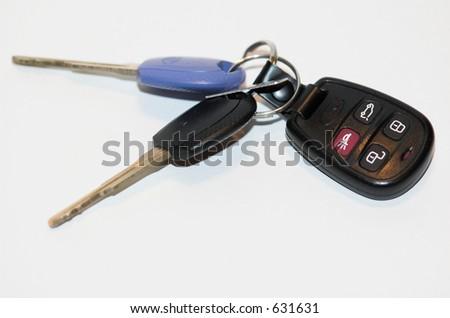 Car Keys - stock photo