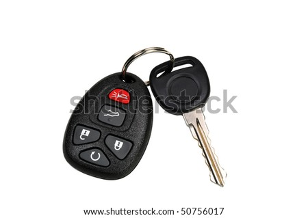Car Keys with Remote - stock photo