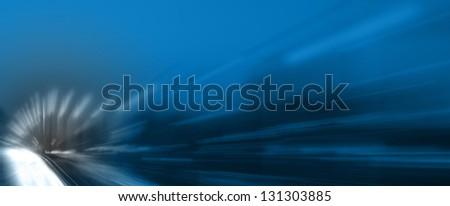 Car light - stock photo