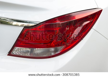 Car light - rear - stock photo