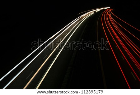 car lights - stock photo