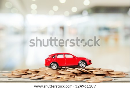 Car Loan. - stock photo