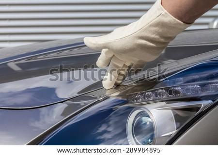 Car lover - stock photo