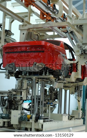 Car Manufacturing - stock photo
