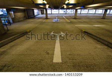 Car Parking - stock photo