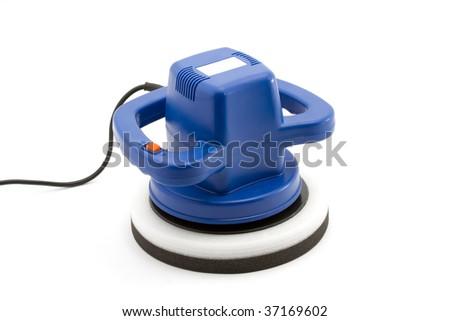 car polishing machine - stock photo