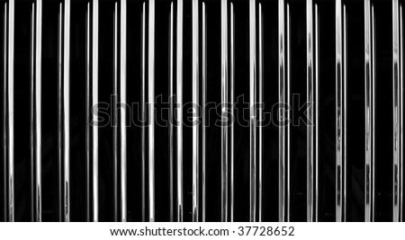 Car radiator background - stock photo