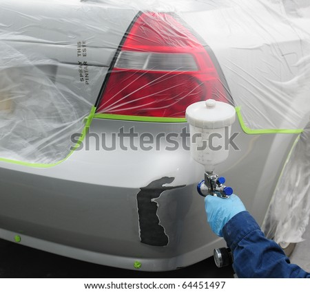 Car repair. - stock photo