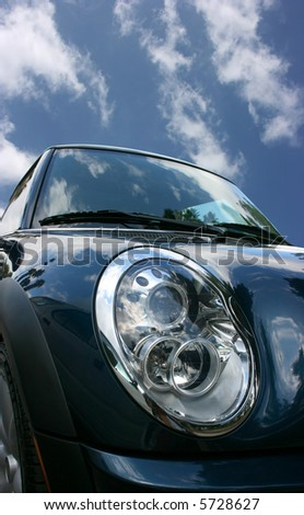 Car's headlight