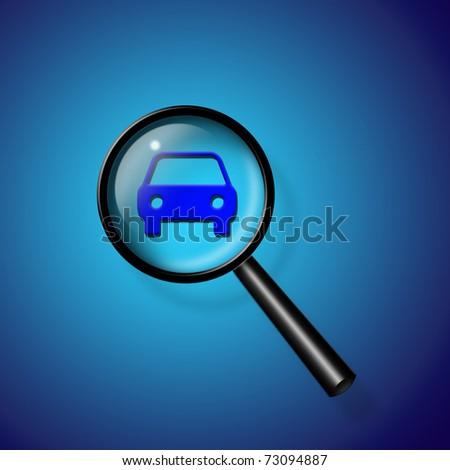 Car Search - stock photo