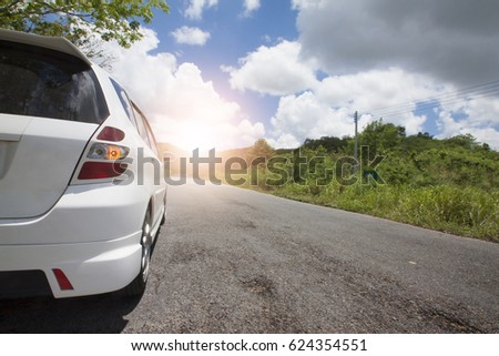 Front New Silver Suv Car Parking Stock Photo 509385697 Shutterstock