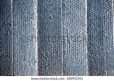Car Sunshade Foil Background - stock photo