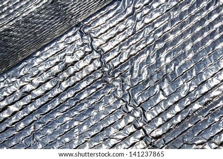 Car Sunshade Foil Background/Sunshade foil background - stock photo