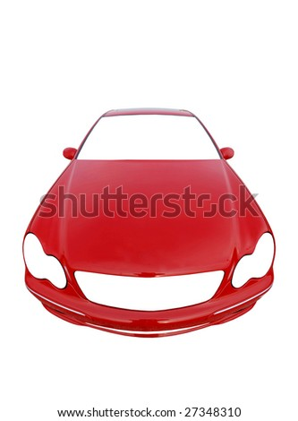 car with your own design or message